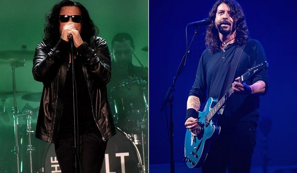 How Dave Grohl and the Cult Ended Their Feud