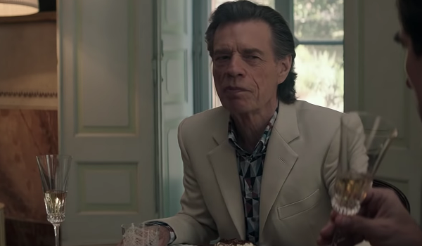 Watch Mick Jagger in 'The Burnt Orange Heresy' Trailer