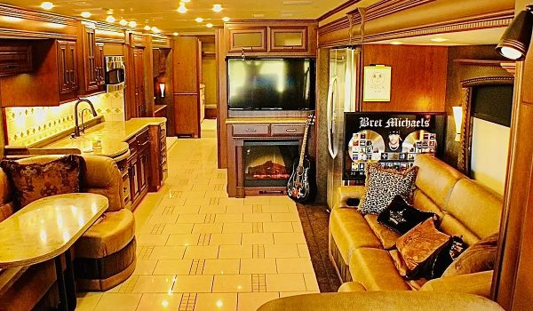 Bret Michaels Is Selling His Tour Bus for $170,000