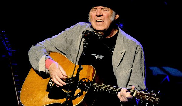 Neil Young Won't Be Touring Anytime Soon