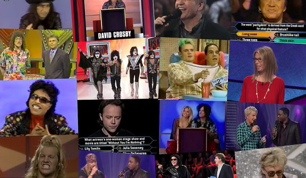 30 Times Rock Stars Were on Game Shows