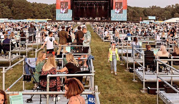 U.K. Socially Distanced Concert Venue Hosts First Show