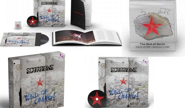 Scorpions 'Wind of Change' Box Will Include Piece of Berlin Wall
