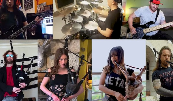 Bagpipers Cover Europe's 'The Final Countdown'