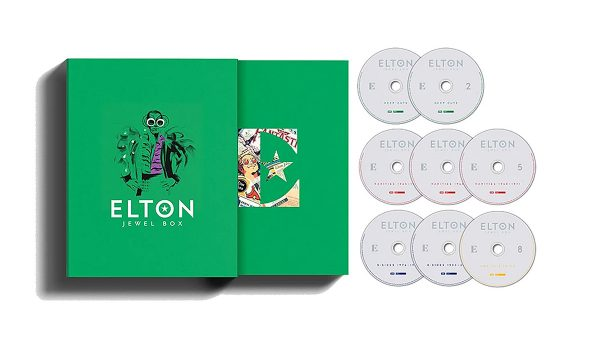 Elton John's New 'Jewel Box' Unearths 60 Unreleased Tracks