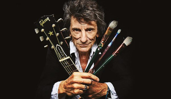 Ronnie Wood Recalls Giving Up Drink and Drugs