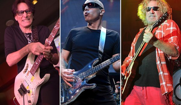 Watch Steve Vai, Sammy Hagar Jam to Joe Satriani Backing Tracks